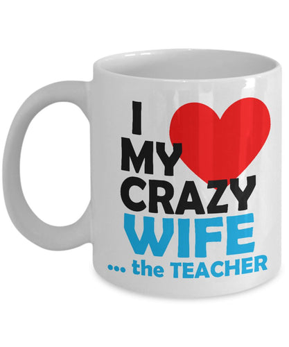 Is Your Wife a Teacher? This Mug is for YOU! Coffee Mug Gearbubble