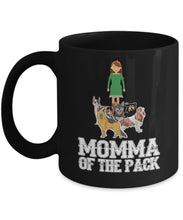 Momma of the Pack Coffee Mug Gearbubble 11oz Mug Black