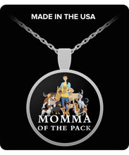 Momma of the Pack - Good Days - Necklace Necklace Gearbubble Round Pendant Necklace