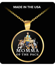 Momma of the Pack - Good Days - Necklace Necklace Gearbubble Round Pendant Necklace - Gold Plated