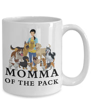 Momma of the Pack - Good Days - White 15 ounce Mug Coffee Mug Gearbubble