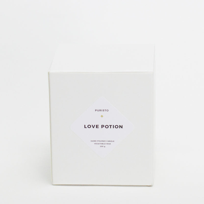 LOVE POTION - Puristo - White Candle