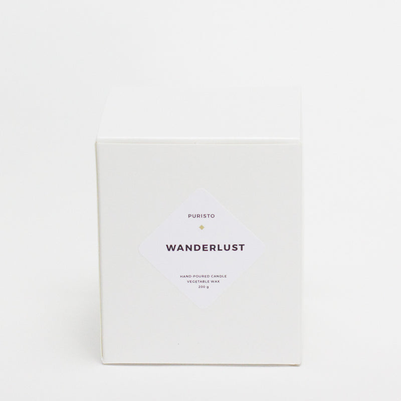 WANDERLUST - Puristo - White Candle