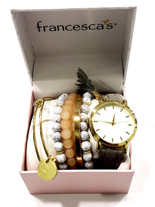 Francesca's Ladies Watch Set