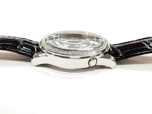 Guess Leather Band Ladies Watch