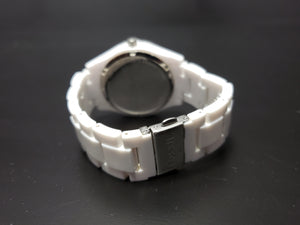 Fossil Stella Multifunction White Resin Watch