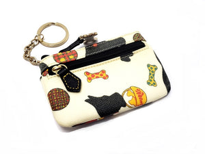 Dooney & Bourke 'Scoottie' Mini Coin Keychain