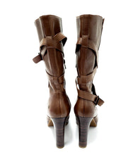UGG Jardin Brown High Heel Boots 11