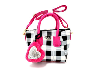 Betsey Johnson Plaid Dome Bag - Goodwill of Central Florida