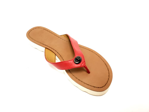 Coach Shelly Flip Flops 7B