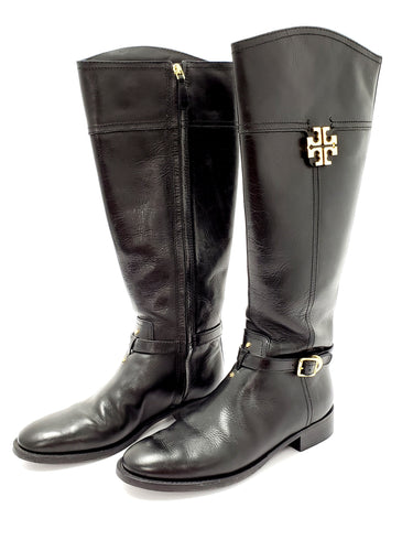Tory Burch Eloise Riding Boots 8M