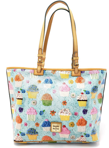 Dooney & Bourke Whimsical Cupcakes Tote