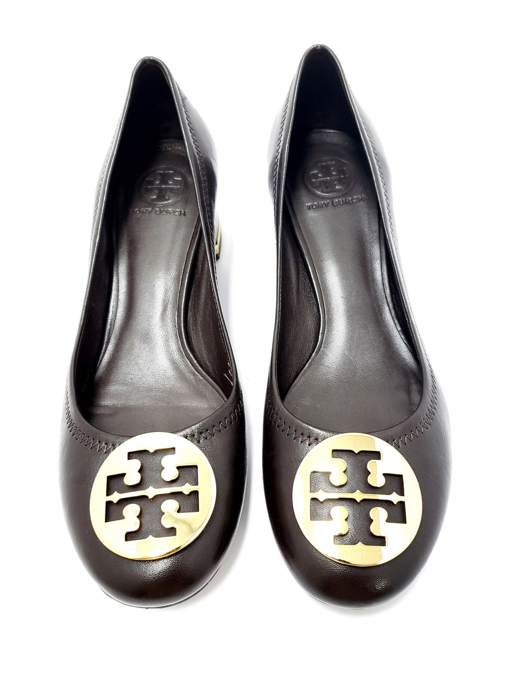 Tory Burch Wood Block Heels 11M