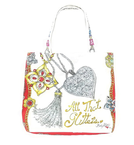 Brighton All That Glitters Tote Bag