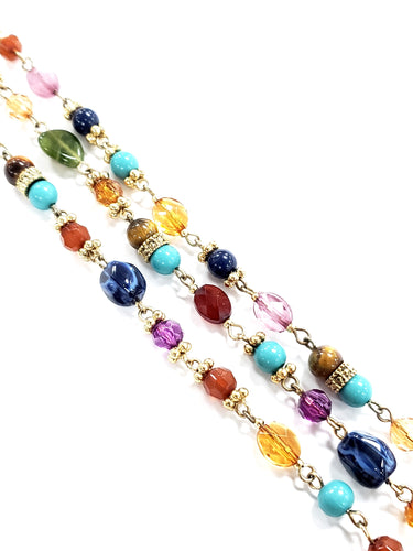 Ralph Lauren Multicolored Beaded Bracelet