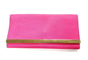 Michael Kors Pink Clutch