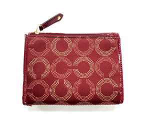 Coach Madison Dotted Medium Wallet