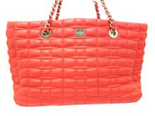 Kate Spade Quilted Neon Orange Tote Bag