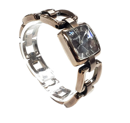 Fossil Diamond Cut Crystal Watch