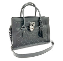 Michael Kors East-West Hamilton Micro Stud Quilted Satchel Bag