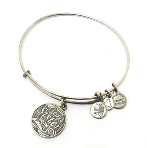 "Alex and Ani ""Like A Sister"" Charm Bracelet"