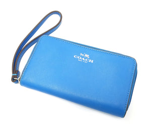Coach Zip Around Wristlet