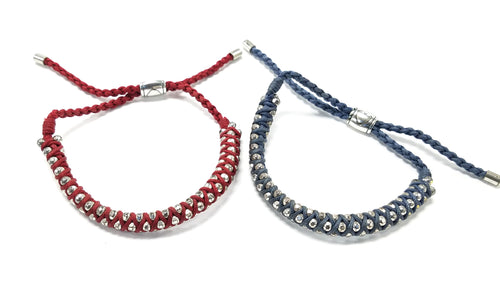 Brighton Color Cable Slide Bracelet Set