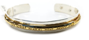 "Brighton Cherished soul ""Do What Makes Your Heart Sing"" Bracelet"