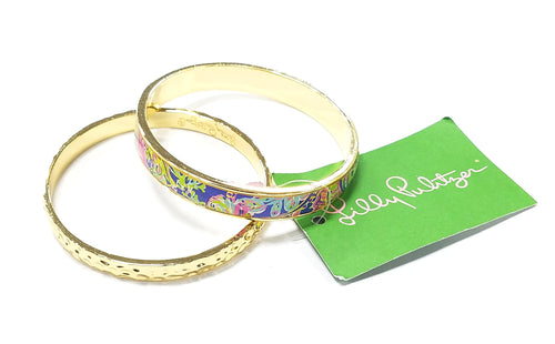 Lilly Pulitzer Bangle Bracelet Set