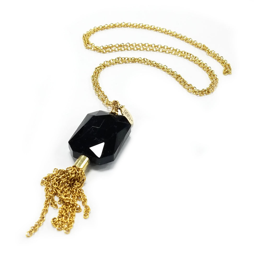 Bourbon And Boweties Long Tassel Necklace