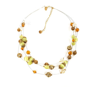 Lia Sophia Multisrap Necklace