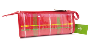 "Kate Spade ""Heddy"" Plaid Cosmetic Case"