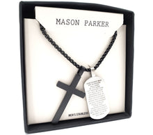 Mason Parker Men's Stainless Steel Necklace