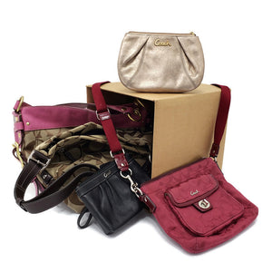 Product: High End Bags & Wallets - Coach Box #05