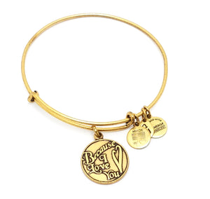 "Alex and Ani ""Because I Love You"" Charm Bracelet"