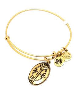"Alex and Ani ""Key To Life"" Charm Bracelet"