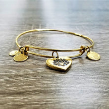 "Alex and Ani ""Lotus Peace Petals"" Charm Bracelet"