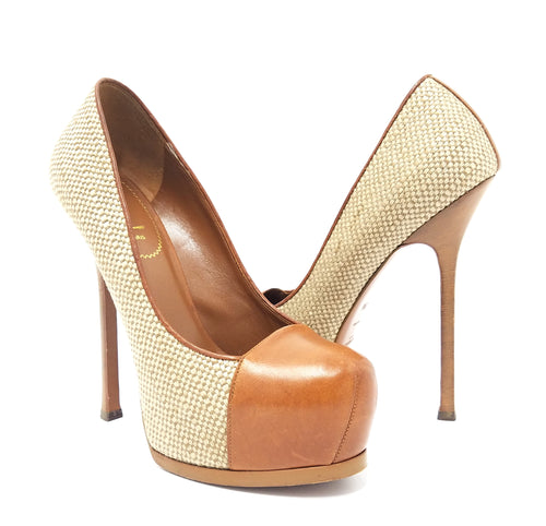 Yves Saint Laurent Tribtoo Platform Pumps Sz. 8.5