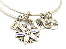 Alex and Ani Limited Edition Snowflake 2017 Charm Bracelet