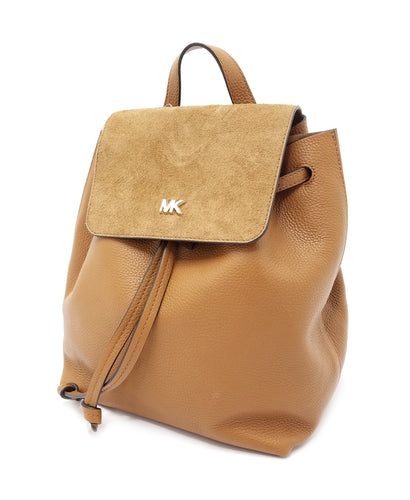 Michael Kors Junie Suede Flap Backpack
