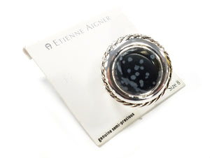 Etienne Aigner Genuine Semi-Precious Ring
