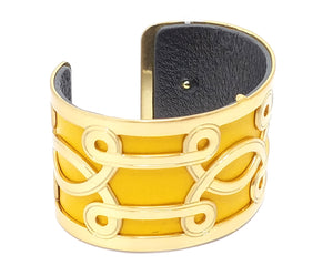 Brighton Christo Lima Brushed Cuff Bracelet