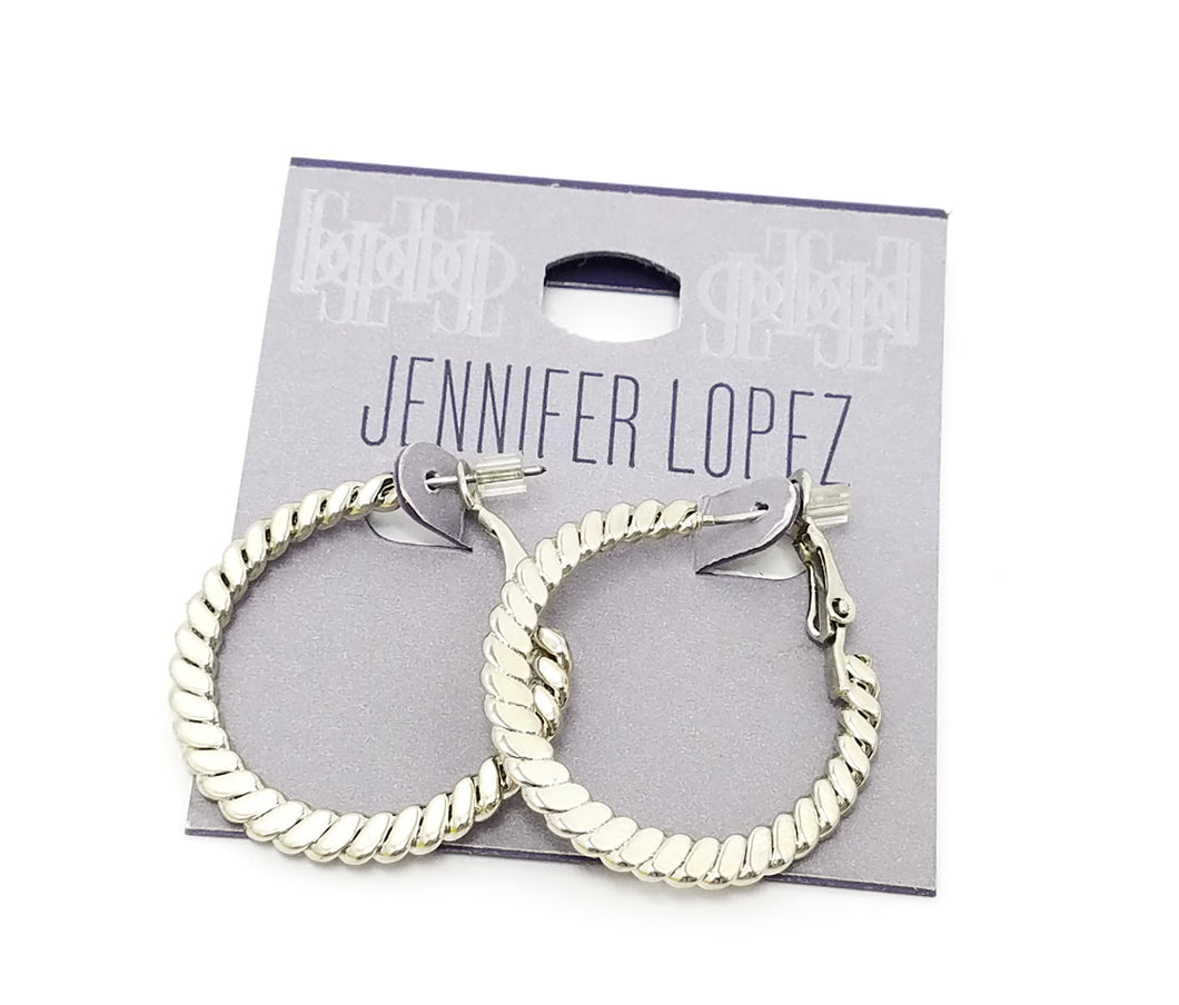 Jennifer Lopez Hoop Earrings