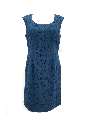 Adrianna Papell Sleeveless Crochet Dress Sz. 16