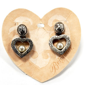 "Brighton ""Sorority Row"" Heart Drop Earrings"