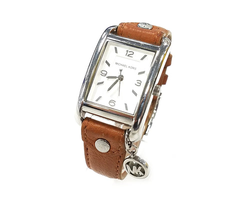 Michael Kors Charm Ladies Leather Strap Watch