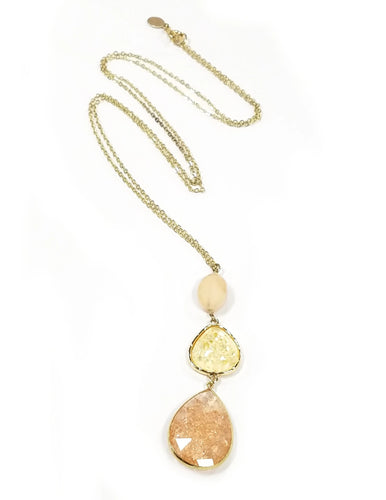 Loft Long Pendant Necklace