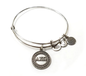 "Alex and Ani ""Alpha Chi Omega"" Bracelet"