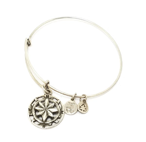 "Alex and Ani ""Compass"" Charm Bracelet"