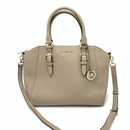 Michael Kors Ciara Large Saffiano Leather Satchel